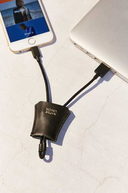 Native Union Leather Tag Lightning Cable