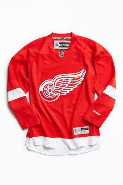 Reebok NHL Detroit Red Wings Hockey Jersey