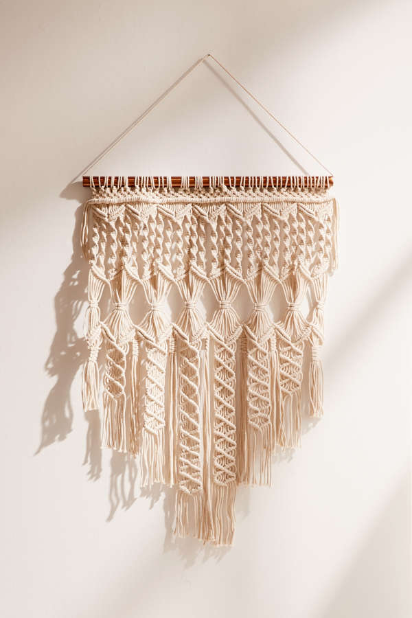 Slide View 2 Penny Woven Macrame Wall Hanging