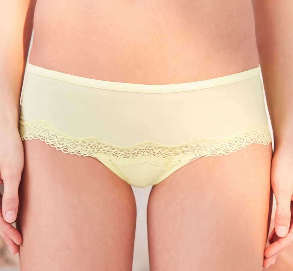 Slide View: 4: Calvin Klein Sheer Marquisette Lace Hipster