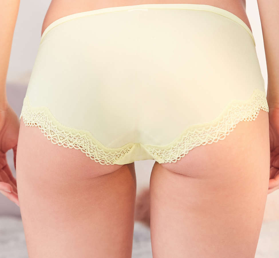 Slide View: 6: Calvin Klein Sheer Marquisette Lace Hipster