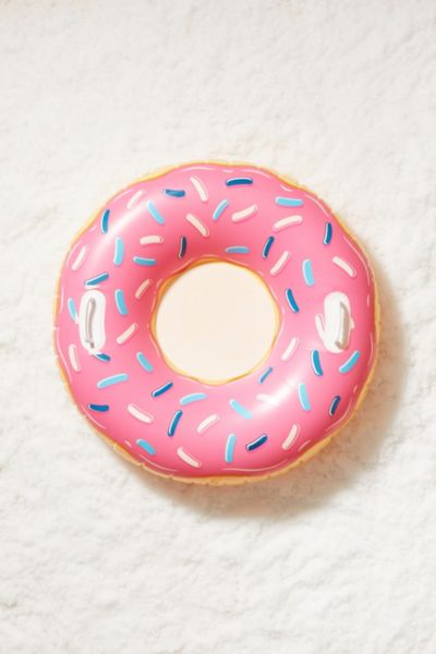 Donut Tube - Pink One Size at Urban Outfitters