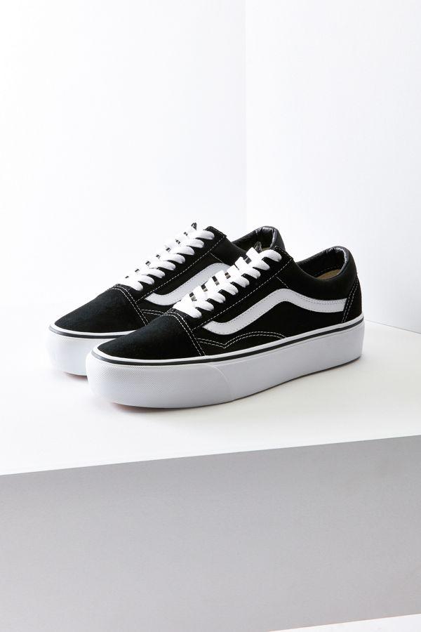 vans platform shoes