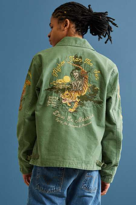Deus Ex Machina Embroidered Barmy Deck Jacket