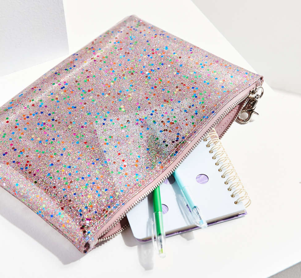 Slide View: 1: Glitter Pouch