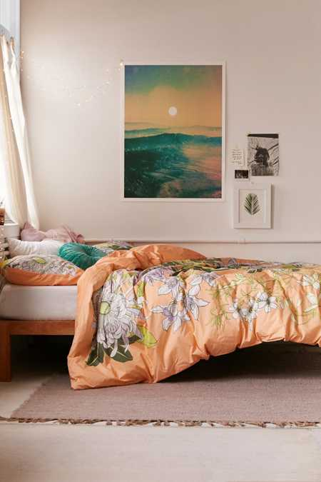 Botanical Scarf Duvet Cover