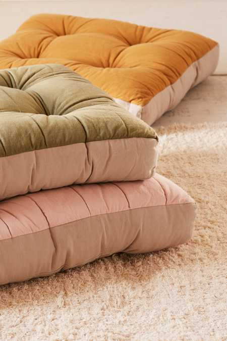 Yooko Colorblock Floor Pillow