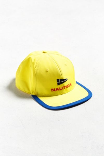Nautica Baseball Hat - Yellow One Size at Urban Outfitters