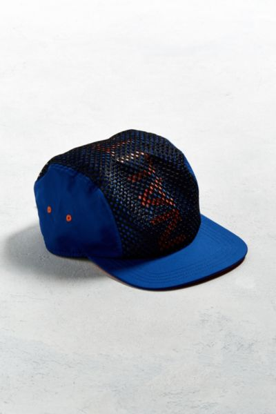 Nautica Mesh Panel Baseball Hat - Blue One Size at Urban Outfitters