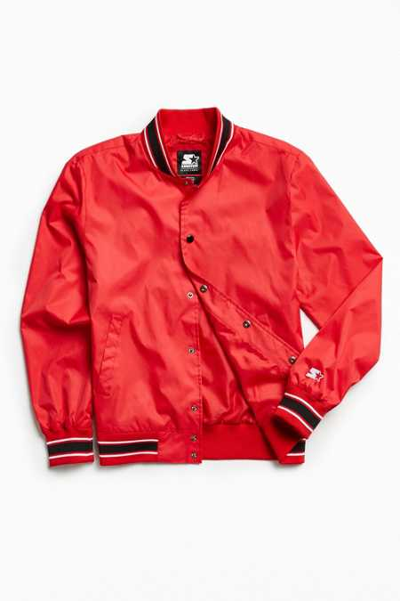 Starter Snap Front Athletic Jacket
