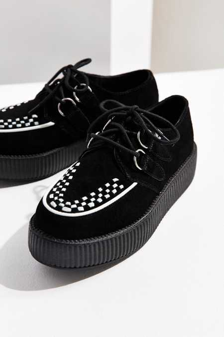 T.U.K. Two Tone Suede Creeper Shoe