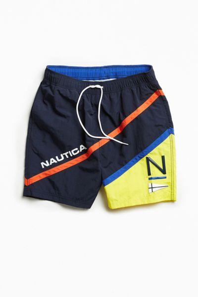 Nautica + UO Logo Colorblocked Swim Short