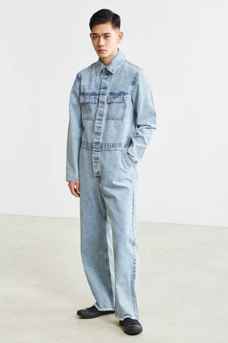 Cheap Monday Denim Boiler Suit Coverall
