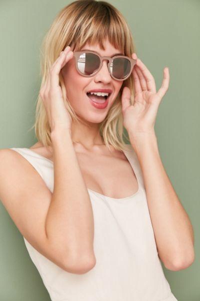 Painted Metal Round Sunglasses