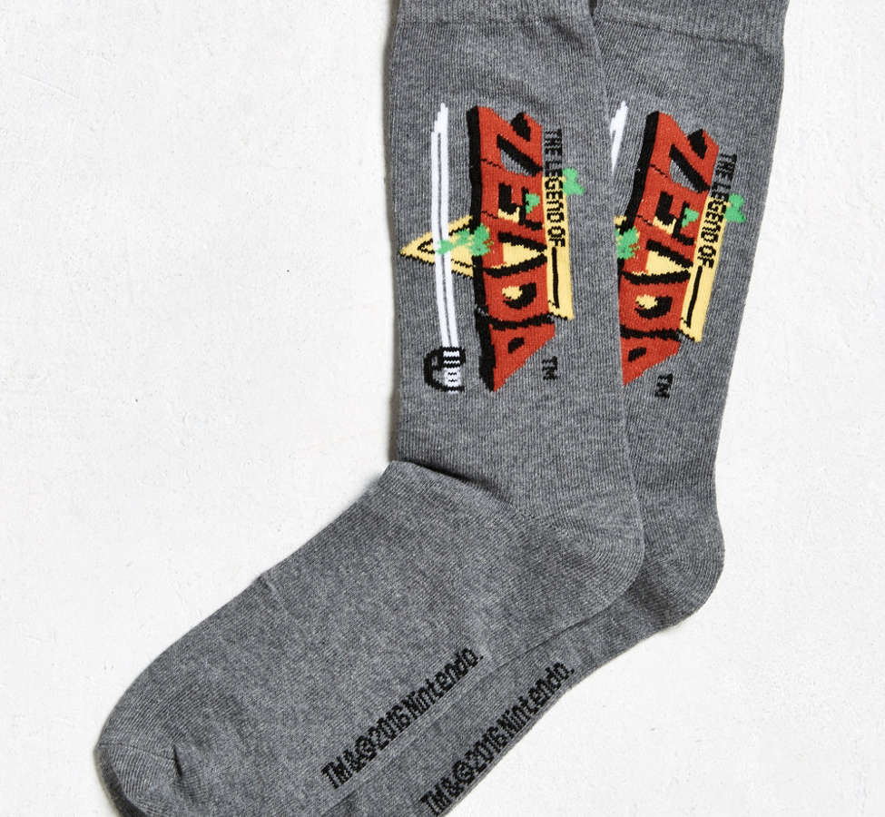 Slide View: 1: Zelda Sock
