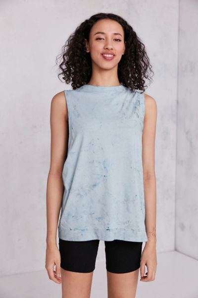 Silence + Noise All-Star Muscle Tank Top - Grey XS at Urban Outfitters