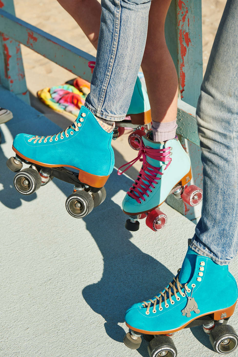Moxi Suede Roller Skates Urban Outfitters