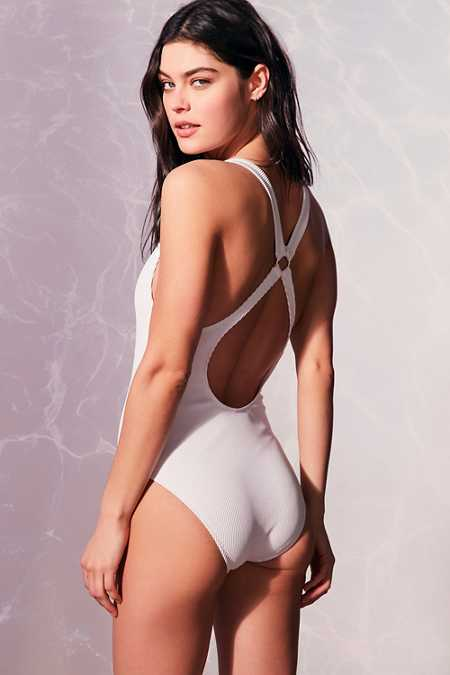 Out From Under Cutout Ring One-Piece Swimsuit