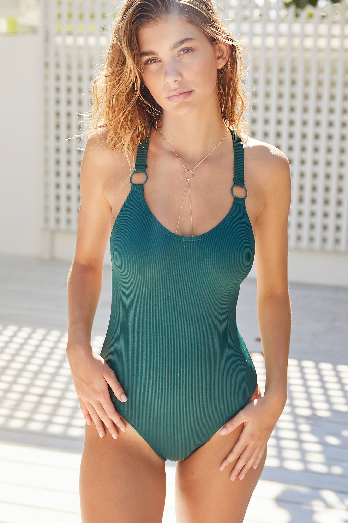 Out From Under Cutout Ring One-Piece Swimsuit | Urban ...