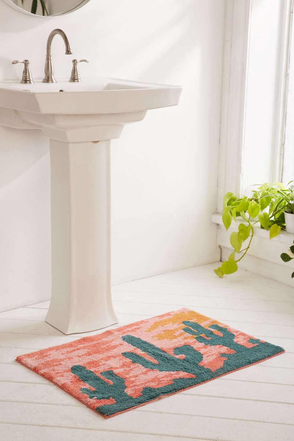 Slide View: 1: Desert Sunset Bath Mat