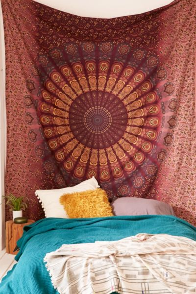 Bleached Medallion Tapestry