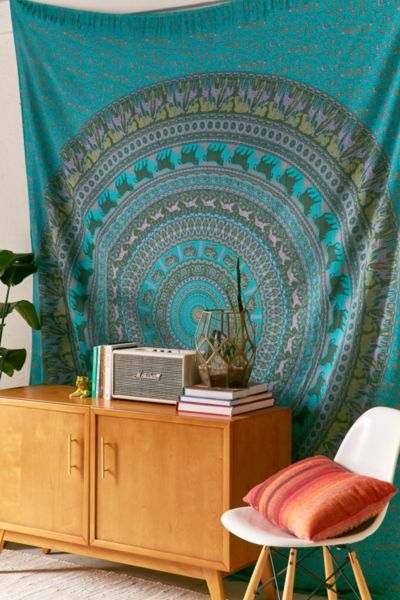 Animal Maze Tapestry