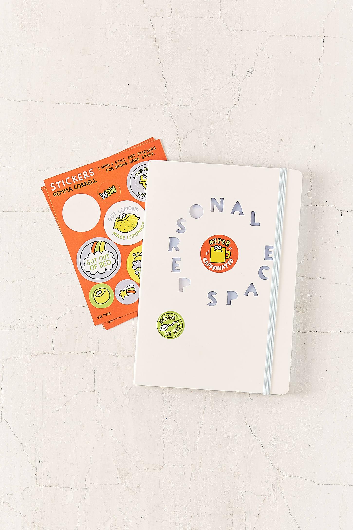 Gemma Correll Hard Stuff Sticker Set