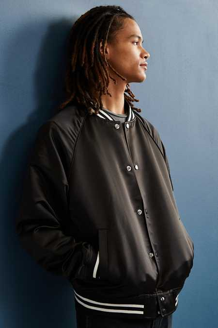 UO Satin Club Jacket