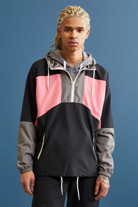 UO '90s Colorblock Anorak Jacket