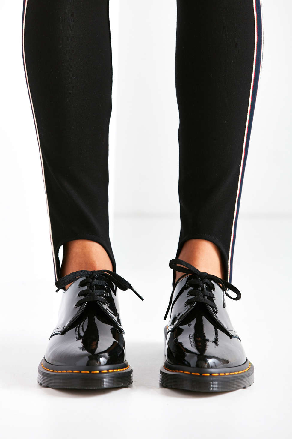 Dr Martens Dupree Patent Leather 3 Eye Shoe Urban