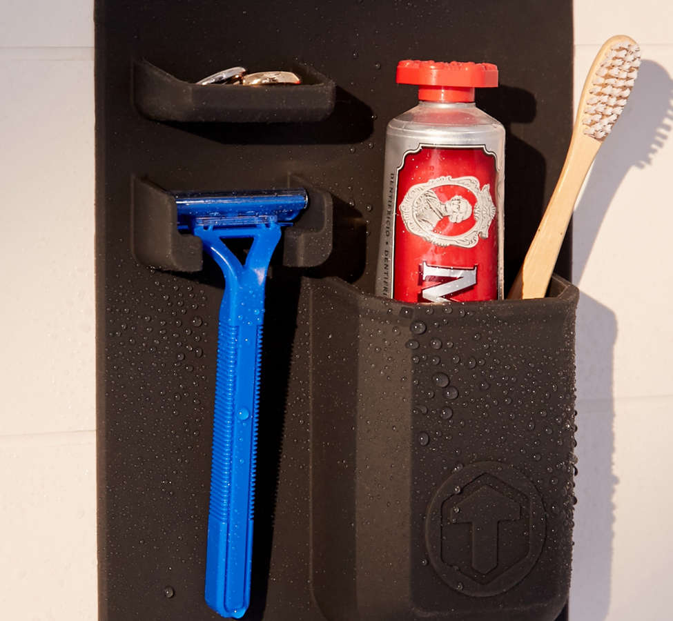 Slide View: 2: Tooletries Mighty Toothbrush + Razor Holder