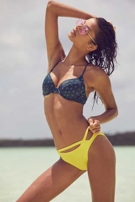 Out From Under Cutout Hipster Bikini Bottom