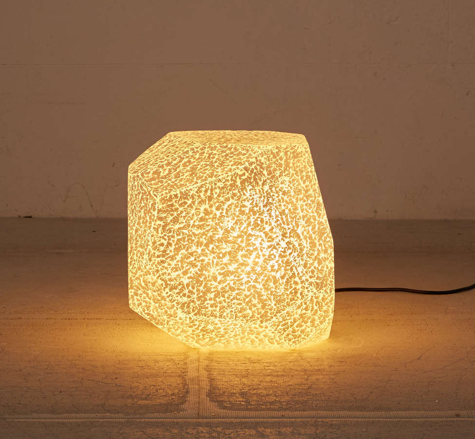 Slide View: 2: Illuminated Textured Stool