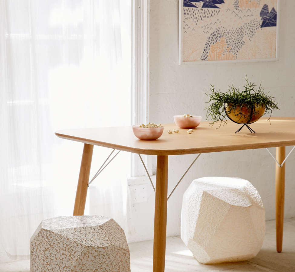 Slide View: 5: Illuminated Textured Stool