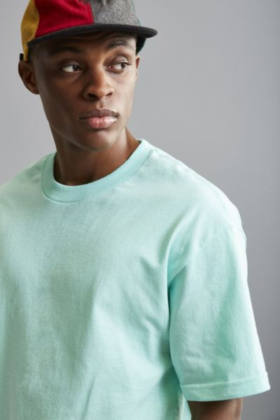 Alstyle Solid Tee - Turquoise S at Urban Outfitters