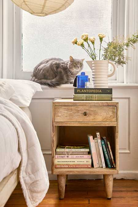 home + apartment furniture | urban outfitters Fold up Night Stand