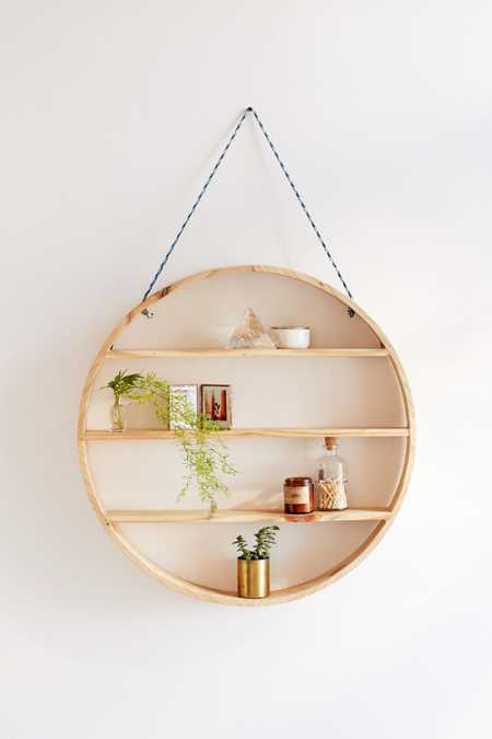 Leona Hanging Circle Shelf