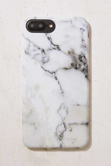 White Gold Marble Iphone  Case