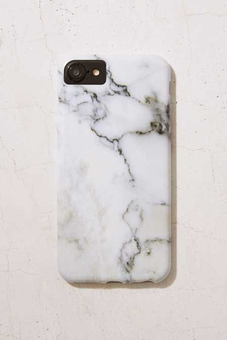 White Marble iPhone 7/6 Case