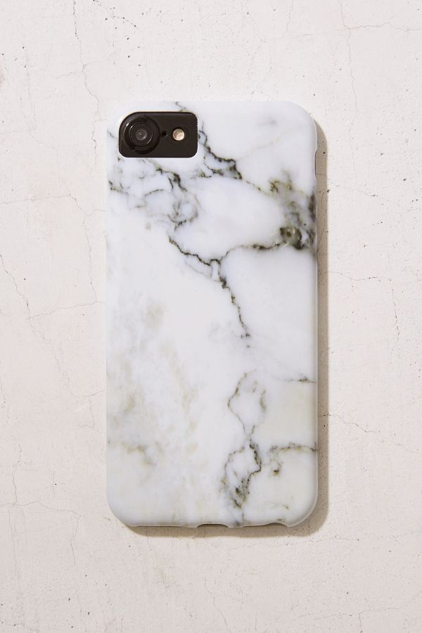 Slide View  1  White Marble iPhone 8 7 6 6s Case 4195d48bf