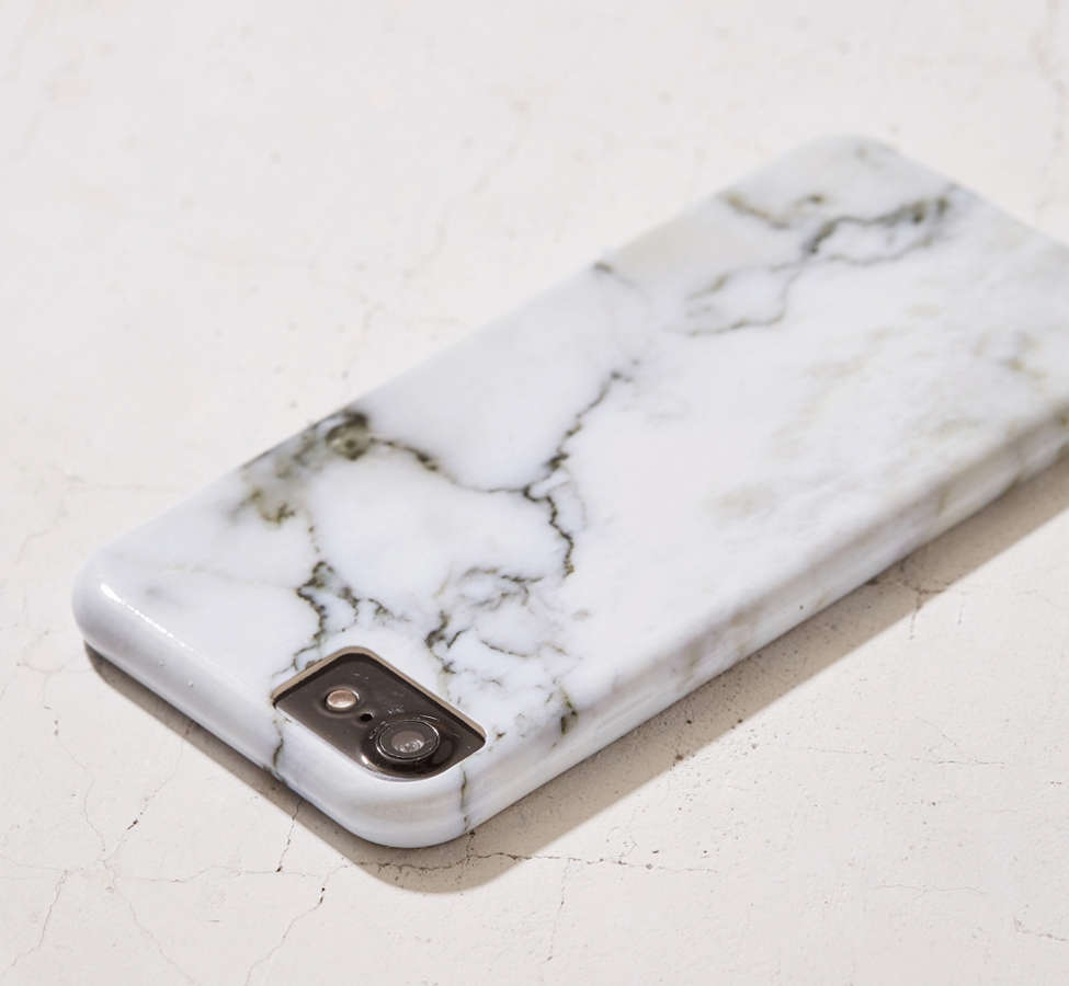 Slide View: 2: White Marble iPhone 8/7/6/6s Case