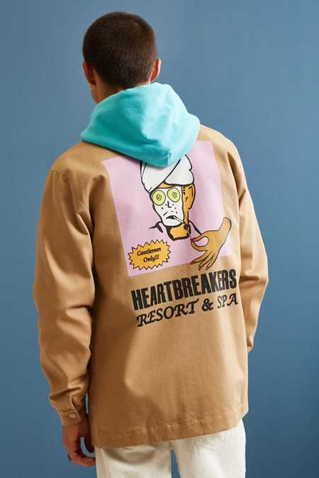Pas de Mer Heartbreakers Coach Jacket