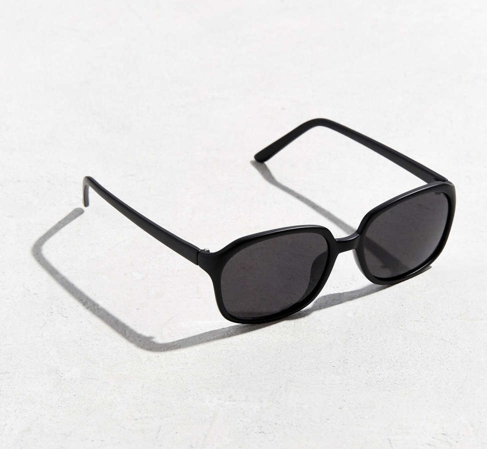 Slide View: 1: Rounded Square Sunglasses