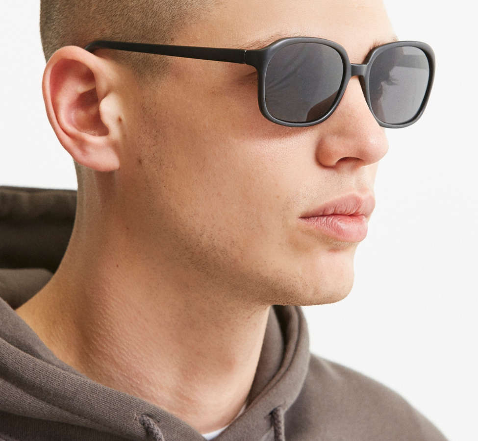 Slide View: 2: Rounded Square Sunglasses