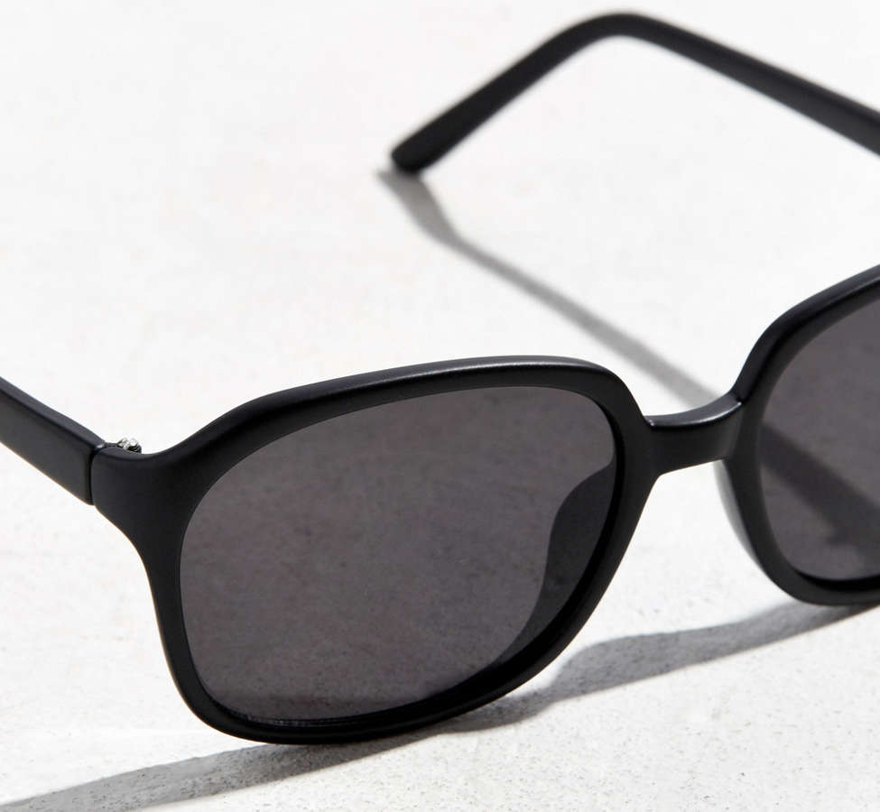 Slide View: 3: Rounded Square Sunglasses