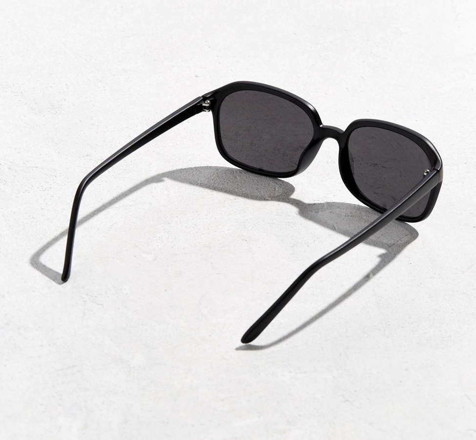 Slide View: 4: Rounded Square Sunglasses