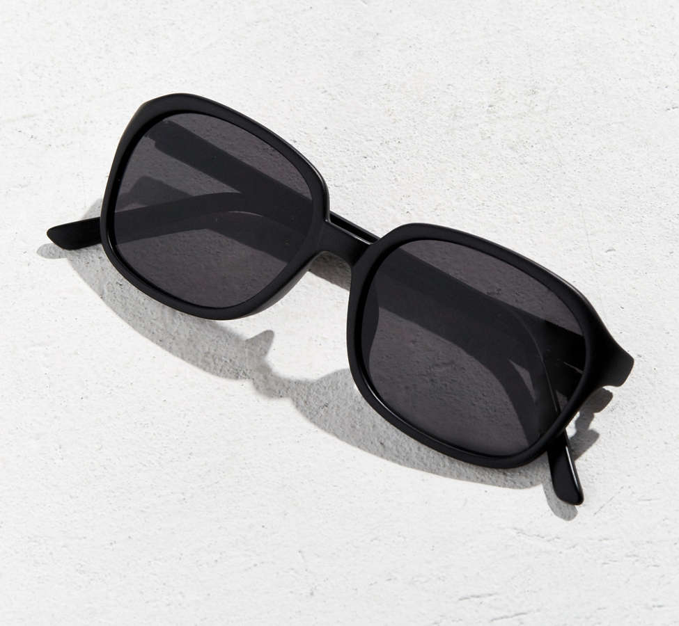 Slide View: 5: Rounded Square Sunglasses