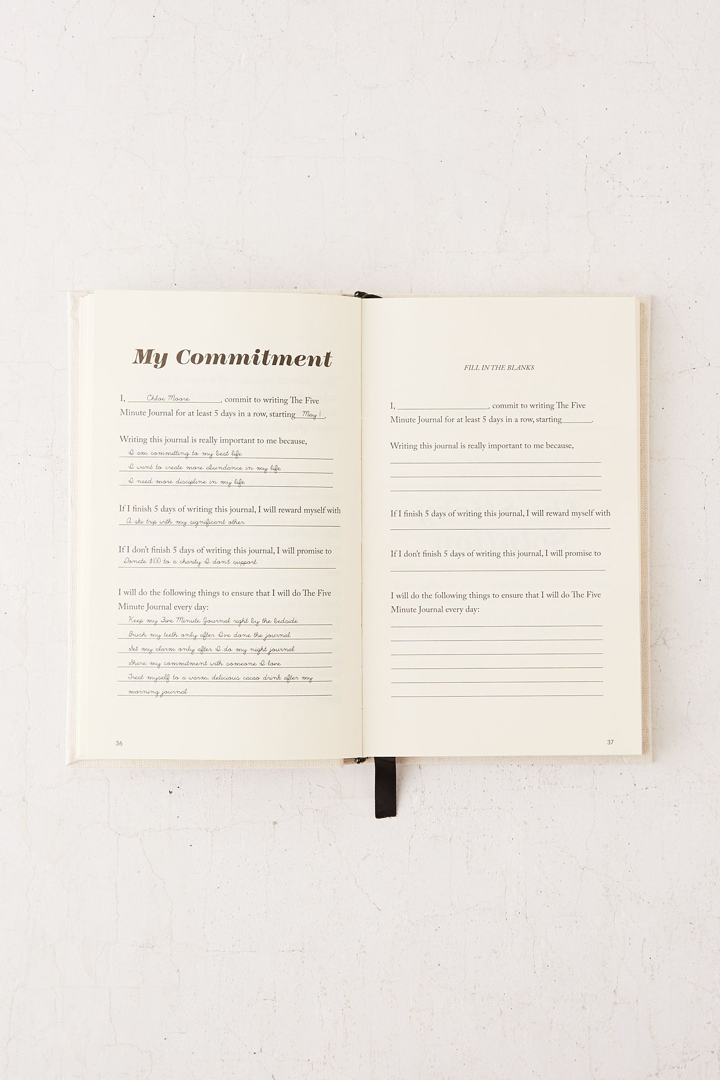 the five minute journal by intelligent change urban outfitters