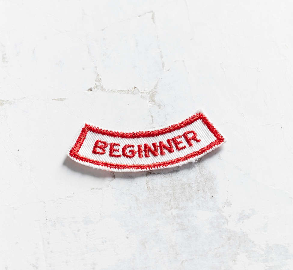Slide View: 1: Vintage Beginner Patch