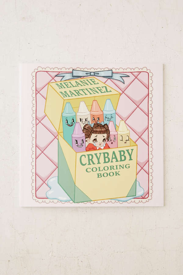 Slide View 1 Cry Baby Coloring Book By Melanie Martinez